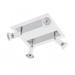 Sarria, 4-flammig, inkl LED, Weiß