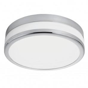 LED Palermo, Ø 22,5 cm, IP44, Chrom