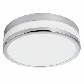 LED Palermo, Ø 29,5 cm, IP44, Chrom