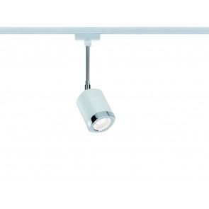 URail Systems LED Spot Wankel, Weiß, Chrom