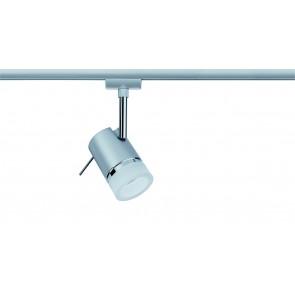 Paulmann URail System LED Spot Pipe 1x3,5W GU10 Chrom matt/Chrom 230V Metall