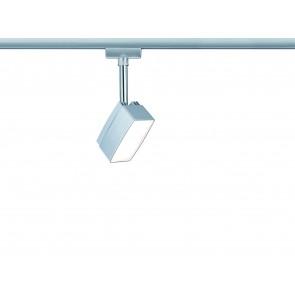 URail System LED Spot Pedal 1x5W Chrom matt 230V Metall