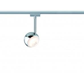Paulmann URail System LED Spot Capsule 1x4,5W Chrom matt 230V Metall