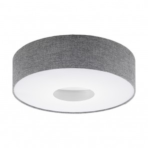 Romao, LED, Ø 50 cm, grau