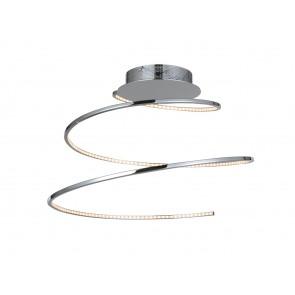 Vela, Spirale, Ø 50 cm, inkl LED, Chrom