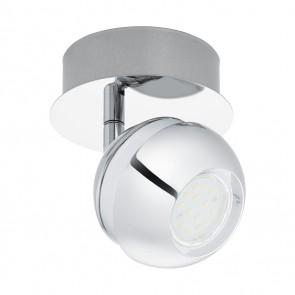Nocito 1, 1-flammig, inkl LED, weiß/chromfarben