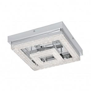 Fradelo, 24x 24 cm, Glaskristalle, inkl LED