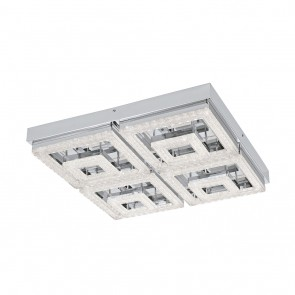 Fradelo, 52x 52 cm, Glaskristalle, inkl LED