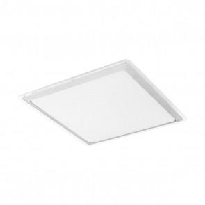 Competa 1, 43x 43 cm, inkl LED, silber