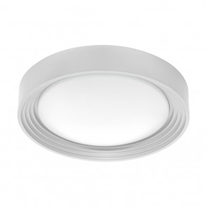 Ontaneda 1, Ø 32,5 cm, IP44 Bad, inkl LED, Silber