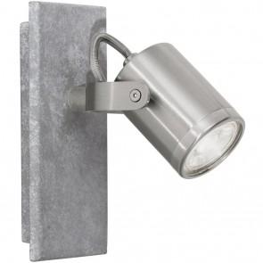 Praceta, LED, 1-flammig, schwenkbar, grau