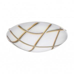Margitta 1, Ø 31,5 cm, inkl LED, Schwarz- Gold- Silber