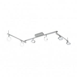 Cardillio 1, LED, 6 Spots, 3 Lichtbalken