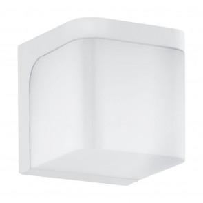 Jorba, LED, 11 x 11 cm, IP44, weiß
