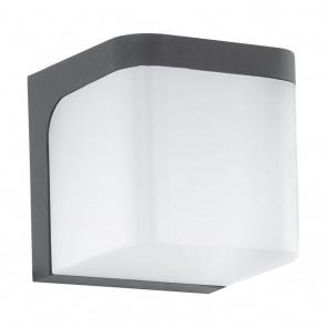 Jorba, 11 x 11 cm, IP44, inkl LED, anthrazit