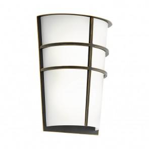 Breganzo, Höhe 25 cm, IP44, inkl LED, dunkelbraun