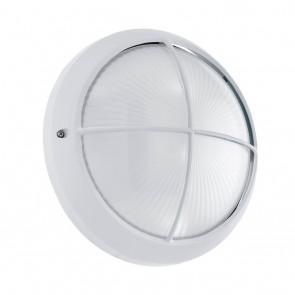 Siones 1, Ø 26 cm, IP44, Weiß