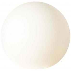 Garden Lichtkugel Ø 80 cm weiß 1-flammig kugelförmig