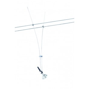 Wire System Light&Easy Spot Lichtstab max1x50W GU5.3 Chrom 12V Metall
