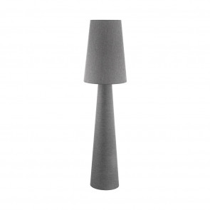 Carpara Höhe 173 cm grau 1-flammig zylinderförmig