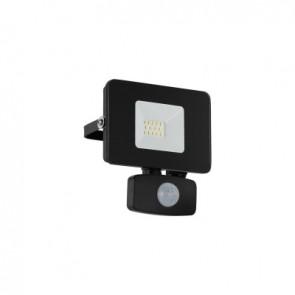 Faedo 3, LED, 10W, mit Sensor, schwarz