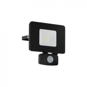 Faedo 3, LED, 20W, mit Sensor, schwarz