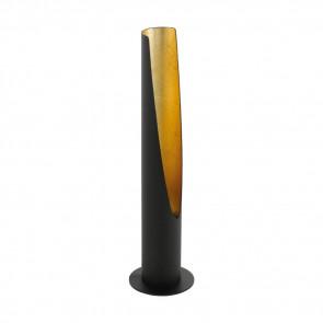 Barbotto Höhe 39,5 cm schwarz 1-flammig zylinderförmig