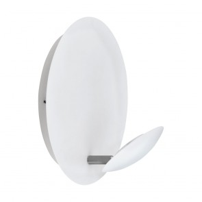 Certino, LED, weiß/nickel-matt, Stahl, für Wand und Decke