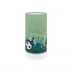 Tabara, Höhe 25,5 cm, Motiv Fußballfeld