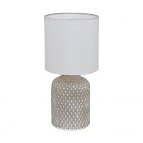 Bellariva, hellgrau/weiß, Keramik