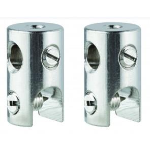WS L&E Seilklotz Seilsysteme 2er Pack max150W/Stange max300W C