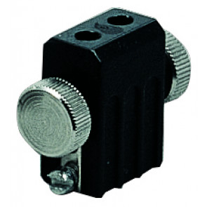 Wire System Lampenhalter, GX5,3, schwarz