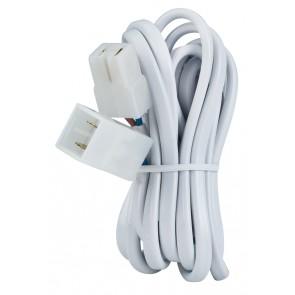 Kabelverlängerung 2m 0,75qm 105W Weiß 12V