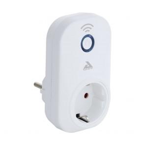 Connect Steckdose Kunststoff Weiss Wifi Fähig, 15M Reichweite, Verbrauchskontro