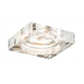 Cristal Quadro 8 x 8 cm klar 3-flammig eckig