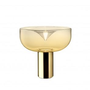 Aella 1968 T Led Polished Gold/Amber Glass