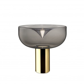 Aella 1968 T Led Polished Gold/Smoked Cognac