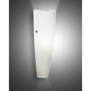 Dedalo, weiß, geblasenes Glas, weiß, 1X75W