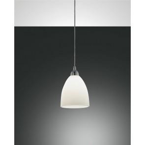 Provenza, verchromt, zentrifugiertes Glas, weiß, 1X60W