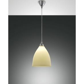 Provenza, verchromt, zentrifugiertes Glas, amber, 1X60W
