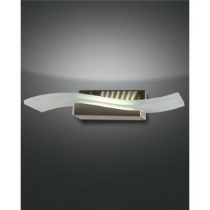 Glove LED, nickel satiniert, Glas, 1x12W