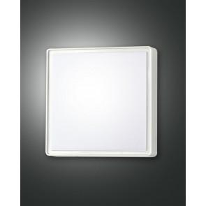 Oban LED, weiß, Kunststoff, weiß, 1400lm, 1x15W