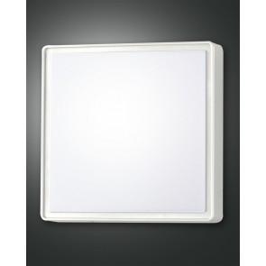 Oban LED, weiß, Kunststoff, weiß, 2700lm, 1x27W