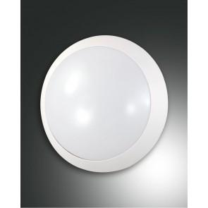 Wigton LED, weiß, Kunststoff, weiß, 1450lm, 1x14W