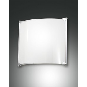 Brixi LED, verchromt, Glas, weiß/transparent, 1080lm, 1x12W