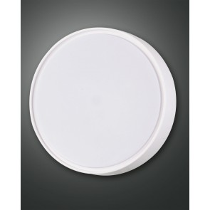 Hatton LED, weiß, Kunststoff, weiß, 2700lm, 1x27W
