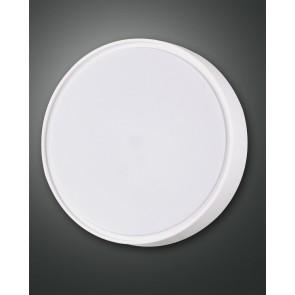 Hatton, weiß, Kunststoff, weiß, 2x30W