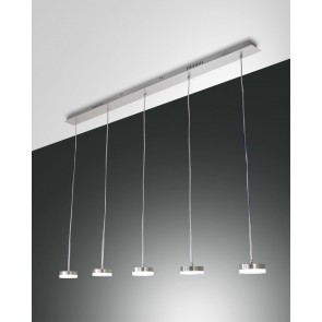 Dunk LED, Aluminium gebürstet, Methacrylat, satiniert, 3500lm, 40W