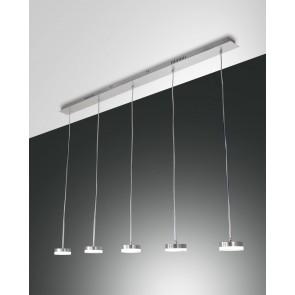 Dunk LED, Aluminium gebürstet, Methacrylat, satiniert, 3500lm, 40W