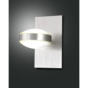 Mill LED, nickel satiniert, Methacrylat, satiniert, 1400lm, 16W